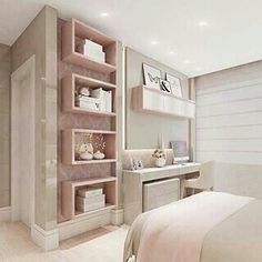 56 bedroom ideas for small rooms page 37 House Design, Room Design, Girl Bedroom Decor, Dream Rooms, Home, Bedroom Design, Home Bedroom, Home Decor, Room Interior