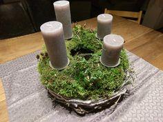Mooskranz Advent weih selfmade