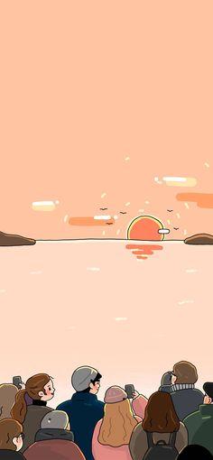 Cute Pastel Wallpaper, Soft Wallpaper, Kawaii Wallpaper, Cute Wallpaper Backgrounds, Wallpaper Iphone Cute, Aesthetic Iphone Wallpaper, Aesthetic Wallpapers, Arte Indie, Arte Alien