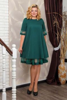 Stylish Work Outfits, Sexy Outfits, Dress Outfits, Casual Dresses, Bridesmaid Dresses Plus Size, Plus Size Dresses, Vestidos Marisa, Shweshwe Dresses, Sleeves Designs For Dresses