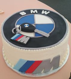BMW Groom's Cake
