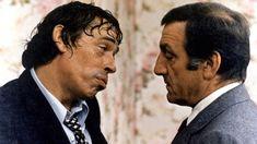 "Jacquel Brel, Lino Ventura dans ""L'emmerdeur"" (Edouard Molinaro, 1973)"