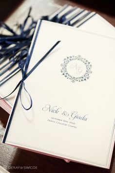 024 navy custom song booklet ribbon church ceremony perth college chapel uwa club wedding photography perth.jpg
