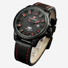 NAVIFORCE Luxury Brand Military Watches Men Quartz Analog 3D Face Leather Clock Man Sports Watches Army Watch Relogios Masculino Like and Share if you agree!  #shop #beauty #Woman's fashion #Products #Watch