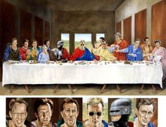 """YOUR ARGUMENT IS INVALID: """"The Last Supper"""" Features James Woods and Robocop   Geeks are Sexy Technology News"""
