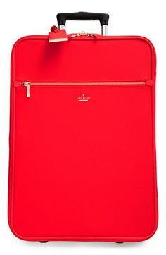 kate spade new york 'classic' nylon international two-wheel carry-on suitcase (20 Inch) available at #Nordstrom