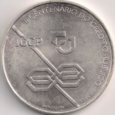 Motivseite: Münze-Europa-Südeuropa-Portugal-Escudo-1000.00-1997-Crédito Público