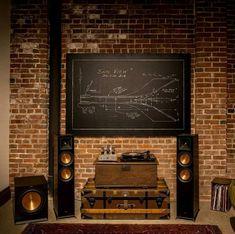 Hi-Fi - Home-Cinéma - Enceintes - Vinyle #cinema #enceintes #HiFi #Homecinéma #vinyle Home Cinéma Klipsch, Logitech, Lp Storage, Home Cinemas, Box, House, Music System, Snare Drum, Home