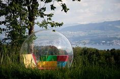 Tenho pena de não ver o futuro > Transparent Cocoon 1 lets you relax, work and what not!