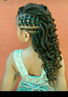 25 Cute Easter Hairstyles for Kids which are insanely easy, . - Kids fashion- 25 Cute Easter Hairstyles for Kids which are insanely easy, effortless & egg-citing Cute Easter Hairstyles for Kids - Little Girl Braids, Braids For Kids, Girls Braids, Side Braids, Baby Girl Hairstyles, Kids Braided Hairstyles, Braided Ponytail, Hairstyles 2018, Toddler Hairstyles