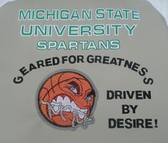 MICHIGAN STATE SPARTANS Basketball Stadium Cushion