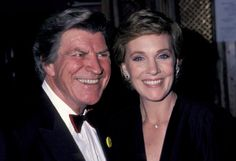 "Julie Andrews and Robert Preston / finally saw ""Victor/Victoria"" what fun :) what talent!"