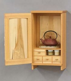 Tea Cabinet - this is beautiful