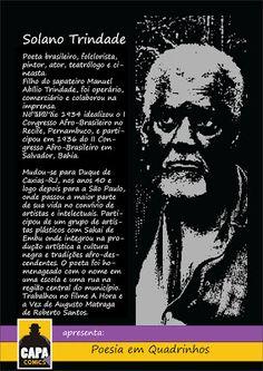 Academia Literaria Solano Trindade: Solano Trindade: Poesia Em Quadrinhos * Antonio Ca...