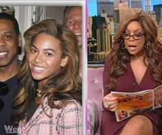 The National Enquirer reports that Beyonce and Jay-Z are mad at Wendy for reporting in October that Beyonce may not have been pregnant...Find out what Wendy has to say..