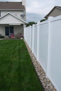 Channel Guard can be used for fences, downspouts, and mow strips. Originally designed as a fence protector, Channel Guard has also been used to effectively improve downspout solutions. Another popular