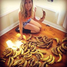 Freelee The Banana Girl's Fruity Diet Has Her Eating Up To 51 Bananas A Day keep moving and smile April 11, 2014, 5:30 pm