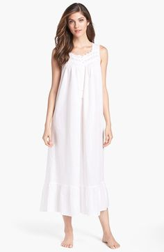 Eileen West 'Victorian Romance' Nightgown available at #Nordstrom