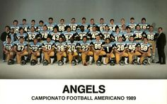 "https://flic.kr/p/uKc9q | Edgardo ""Eddie"" Donovan - Pesaro Angels American Football 1989 