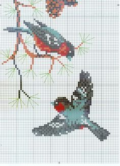 Gallery.ru / 3 - Bullfinches - Olsha