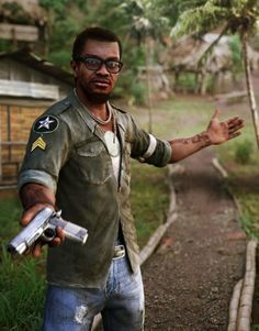 Could Dennis have been the protagonist of Far Cry 3?