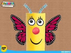 Oh! look! I'm a butterfly... https://itunes.apple.com/us/app/recycling-workshop-design/id880330071