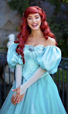 Disneyland // Ariel // The Little Mermaid Disneyland Princess, Disney Princess Dresses, Disney Dresses, Ariel Disneyland, Ariel Hair, Ariel Dress, Dress Up, Ariel Cosplay, Disney Cosplay