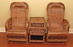 antique chinese  bamboo  furniture | Chinese vintage furniture, Shanghai China, Great set of one bamboo ...