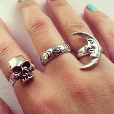*silver rings