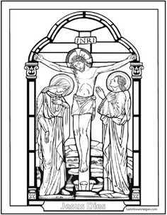 Trend Coloring Pages Of Jesus On The Cross 70 Relive Jesus Christ us