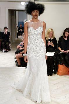 Pin for Later: Les Plus Belles Robes de Mariée de la Bridal Fashion Week Automne 2014  Badgley Mischka Bridal Autumn 2014