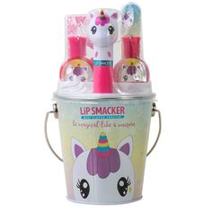 Mar 2019 - Lip Smackers Color Me Collection Unicorn Multi-Colored Makeup Kit For Kids, Kids Makeup, Unicorn Gifts, Unicorn Rooms, Girl Gift Baskets, Easter Buckets, Toys For Girls, Girl Gifts, Pretty Nails