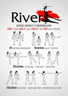 Reavers are strong, committed, out to win. Taking them down requires not greater force but greater dexterity. Speed, agility, endurance and precision require muscular control and the River workout takes your muscles through a range of motion that's...