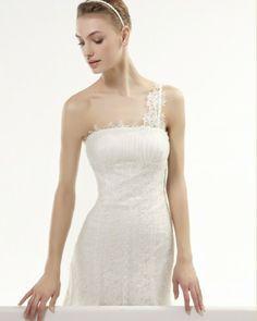 Tendências #Noivas 2014 - Vestidos de uma alsa #AireVintage #casarcomgosto #renda
