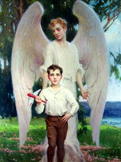 Royalty-Free Pictures of Guardian Angels & Archangels Guardian Angel Pictures, Guardian Angels, The Guardian, Angels In Heaven, Heavenly Angels, Vampire Stories, I Believe In Angels, Angels Among Us, Royalty Free Pictures