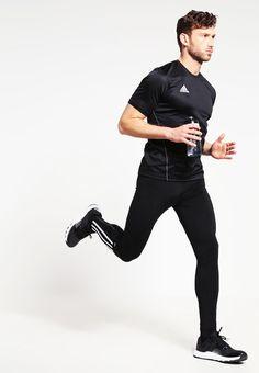 adidas Performance Tights - black/white für 69,95 € (12.06.16) versandkostenfrei bei Zalando bestellen.