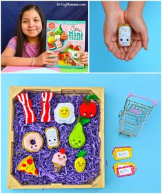 Sew Mini Treats: Kids can easily learn to sew adorable pretend felt foods with this Klutz craft kit. It makes a fun at home activity that promotes independent play. #KlutzCraftMonth #ad @scholastic @KlutzCertified Craft Kits For Kids, Diy Crafts For Kids, Fun Crafts, First Sewing Projects, Diy Craft Projects, Craft Tutorials, Craft Ideas, Felt Food, Toddler Learning