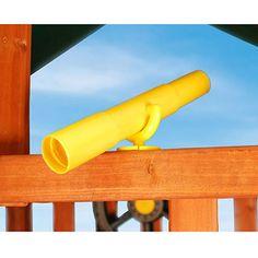 Gorilla Playsets Toy Telescope, Yellow - $14.97 (Add to swingset)