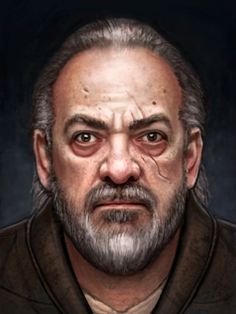 RPG Portrait 2 by adam-brown.deviantart.com on @DeviantArt. NPC bug eyed Joe