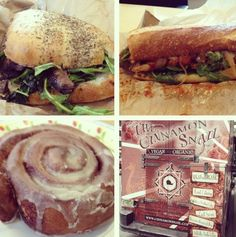 Vegan & Organic Lunch From The Cinnamon Snail!