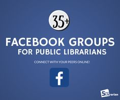 3 Teen Librarian Facebook Groups are on the list! You might also find more that you're interested in since it covers all categories in public libraries (social media, Wordpress, storytime, etc.)  | 5 Minute Librarian: From ALA to Zuckerberg: Librarian Facebook Groups