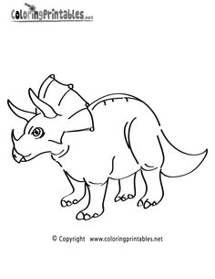 triceratops coloring pages printable printable coloring page.html