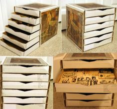 Pizza Box Drawers  Take a look at these 7 Cool DIY Projects With A Pizza Box