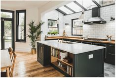 17 Gorgeous Green Kitchens that inspire - little house of could