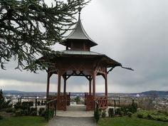 the Chinese Pavilion in GRAZ Pavilion, Gazebo, Chinese, Outdoor Structures, Spaces, Graz, Kiosk, Chinese Language