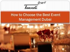 How to Choose the Best Event Management Dubai.pptx is a PowerPoint presentation uploaded by jesika Event Management Company, Creative Design, Dubai, Presentation, Designers, Rain, Good Things, Floral, Rain Fall