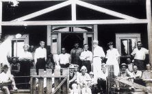 In 1917 the New Llano Cooperative, America's longest lived socialist community, moved from California to a defunct lumber mill town in Vernon Parish, Louisiana.