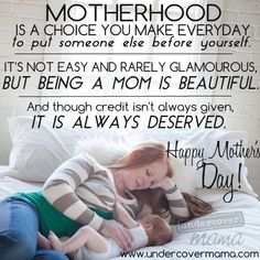 Mother's Day and Motherhood #undercovermama #breastfeeding #mom