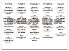 5 days of #paleo meals. #primalorganic