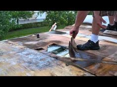 never leak rv roofing 20 year rv roof repair warranty - Mobile Home Roof Coating